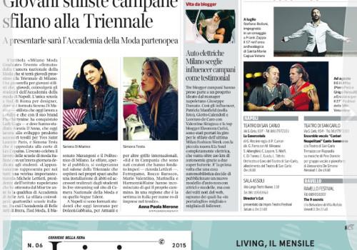 Corriere della Sera – Auto elettriche, Milano sceglie influencer campani