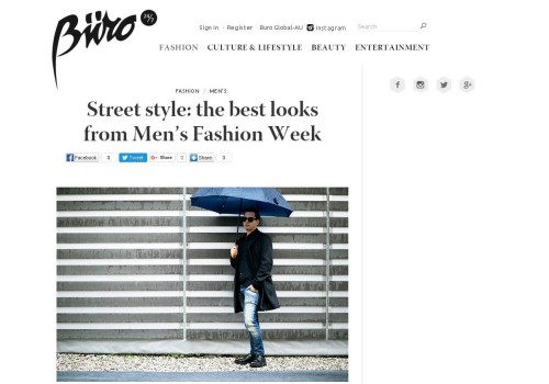 Buro – STREET STYLE: the best looks form Men's Fashion Week