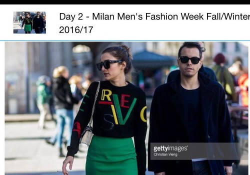 Getty Image – MILAN MEN'S COLLECTION STREET STYLE FALL 2016